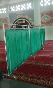Sekat Masjid Stainless
