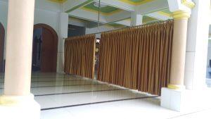 Pembatas Masjid Stainless